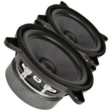 Pair Faital PRO 4FE35 10.2cm Midrange full-range Woofer Speaker 8 ohms 60W 91dB