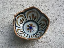 "1980s Ken Edwards Tonala El Palomar Lotus Pattern 5"" Dessert Bowl #2 - Mexico"