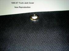 1966 1967 66 67 Dodge Charger Jack Cover *BLACK* Restore Your Chargers Trunk