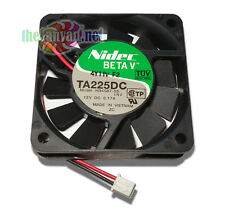 Nidec Beta V SlimlineTA255DC 60mm x 15mm Ball Bearing 12v Fan w/ 2 Pin Connector