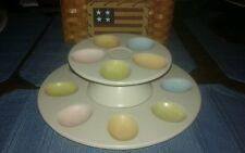 Home Sunday Brunch Deviled Egg Pedestal Plate