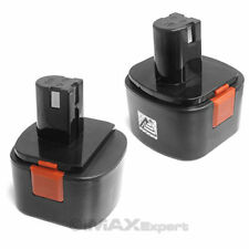 2 x 12V NiCd Rechargeable Battery for Lincoln Grease Gun 1200 1240 1242 1244