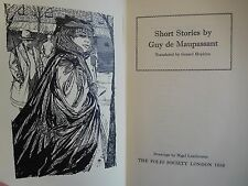 1965 - SHORT STORIES BY GUY DE MAUPASSANT - FOLIO SOCIETY EDITION - ILLUSTRATED
