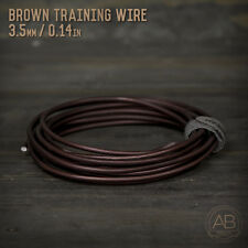 American Bonsai Brown Aluminum Training Wire - 3.5mm - 100 grams - 14ft - 100g