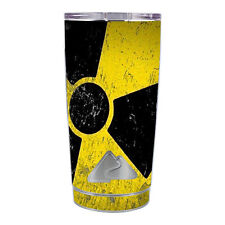 Skin Decal for Ozark Trail 20 oz Tumbler Cup (5-piece kit) / Bio Hazard zombie