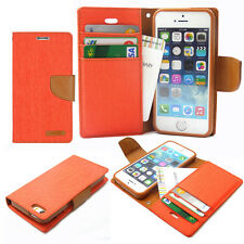 For iPhone Galaxy LG Canvas Diary Slim Flip Leather Wallet Case Cover Goospery