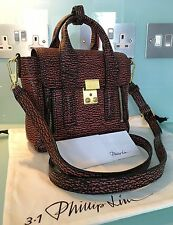 Beautiful & Genuine 3.1 Phillip Lim The Pashli Mini Leather Trapeze Bag