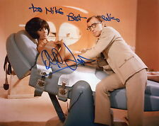 DALIAH LAVI HAND SIGNED 8x10 PHOTO+COA      SEXY POSE   WOODY ALLEN     TO MIKE