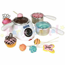 PME Electric Chocolate Melting Pot - 3 pots & 2 heat settings. Cake pop melts