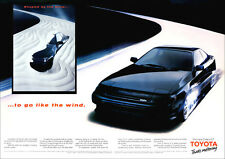 TOYOTA CELICA GT RETRO A3 POSTER PRINT FROM CLASSIC 80's ADVERT