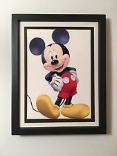 "Mickey Mouse 5""x7"" Picture In 6""x8"" Standing Or Hanging Frame"
