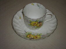 Norleans Bone China Demitasse Cup and Saucer-Made in Occupied Japan