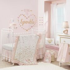 Lambs & Ivy Confetti 5 Piece Baby Crib Bedding Set w/ Bumper NEW