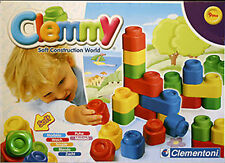 NEW IN BOX Clemmy Up & Down Soft Construction Scented Blocks For Kids / Children