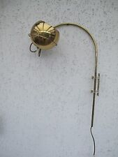 70er pared bola curva lámpara mid CENTURY lámpara Panton staff, cosack, rumorde