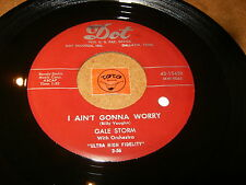 GALE STORM - I AIN'T GONNA WORRY - IVORY TOWER  / LISTEN - ROCK GIRL POPCORN