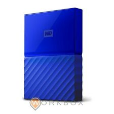 HARD DISK HD 2,5 ESTERNO WESTERN DIGITAL MY PASSPORT 1TB BLU WDBYNN0010BBL-WESN