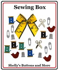 Jesse James Buttons~ DRESS IT UP ~ SEWING BOX #9557 ~ SEWING ~ CRAFTS ~ Quilting