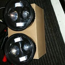 Harley Davidson  Dyna Fat Bob Daymaker Style Head Lights Black