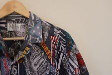 Vintage ugly crazy fresh prince American print pattern shirt