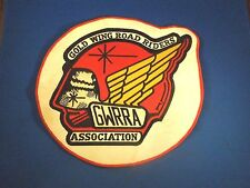 Vintage Gold Wing Road Riders Association GWRRA Jacket Patch