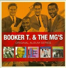 BOOKER T. & THE MG'S 5CD NEW Green Onions/Soul Dressing/And Now!/Hip Hug/Doin'