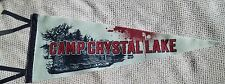 FRIDAY THE 13TH CAMP CRYSTAL LAKE PENNANT EXCLUSIVE LOOTCRATE 2016 NEW