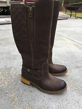 Timberland womens tall leather boots size 6 brand new