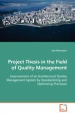 Project Thesis in the Field of Quality Management : Improvement of an...