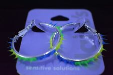 Claire's Colorful Hoop Earrings New Sensitive Solutions Multi-color