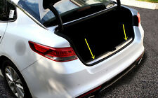 Inside Rear Bumper Protector Trunk Step Plate Cover for Kia Optima K5 2016 2017