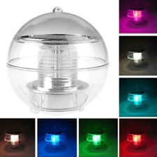 Solar Power LED Floating Night Light Ball Waterproof Multi Color Changing Pool