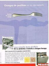 Publicité Advertising 2005 Lave Vaisselle Asana de Miele