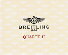 BREITLING QUARTZ 2 ANLEITUNG INSTRUCTIONS I455