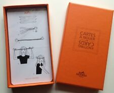 Authentic Hermes Hermès Knotting Cards Volume 4 How to tie Scarf Sealed