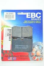 EBC Standard Organic Brake Pads - FA216/3 for 02-08 Indian Scout Applications
