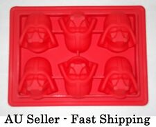 Star Wars Darth Vader Silicone Chocolate Gum Paste Mould Mold Ice Cube Tray