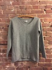 Zadig & Voltaire Grey 100% Wool Sweater Size M As-Is