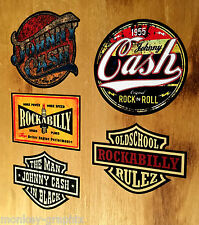 5er us rythm Johnny Cash set Sticker Adhesivo carter rod rockabilly v8 EE. UU.