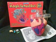 The Magic School Bus Kenner Body Safari Heart Central  playset toy  VINTAGE