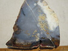 540  POLKA DOT AGATE SLAB. TAKES A GREAT POLISH,  MAKES BEAUTIFUL CABS. THICK