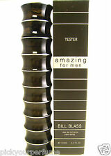 Amazing for MEN by Bill Blass EDT SPRAY 3.4 oz ~ BRAND NEW IN TESTER BOX
