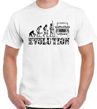Defensor Evolución - Hombre Divertido Camiseta LAND ROVER 90 120 140 4x4