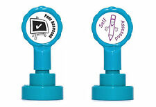 Peer Assessed & Self Assessed Self Inking Teacher Rubber Stamp Set - Re-inkable