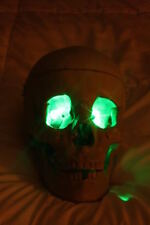 GREEN LED Eyes Halloween use for jawa monster ghost skull costume and more