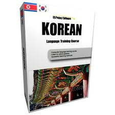 Apprenez à parler korean language training course PC DVD NEW