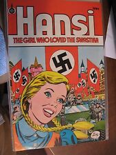 Hansi ~The Girl Who Loved The Swastika ~1973 1976 ~39 cent cover