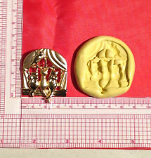 Cats on a Window Silicone Push Mold A821 For Candy Chocolate Fondant Wax Soap