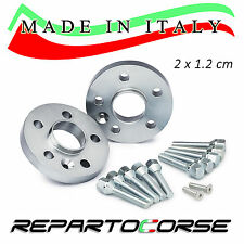 KIT 2 DISTANZIALI 12MM REPARTOCORSE VOLKSWAGEN GOLF VI 6 5K1 100% MADE IN ITALY