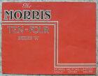 MORRIS TEN FOUR SERIES M Car Sales Brochure For 1946